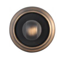 Завертка Melodia Wc на розетке 50V Затемненная бронза