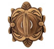 Завертка Melodia Wc на овальной розетке Z Матовая бронза
