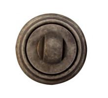 Завертка Melodia Wc на розетке 50V Античное серебро