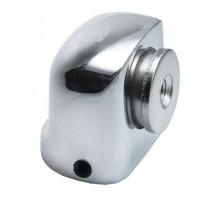 Магнитный дверной ограничитель MDS-2 SN Никель белый