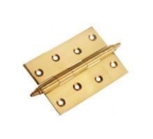 Стальные универсальные дверные петли Morelli MS-U PG Золото