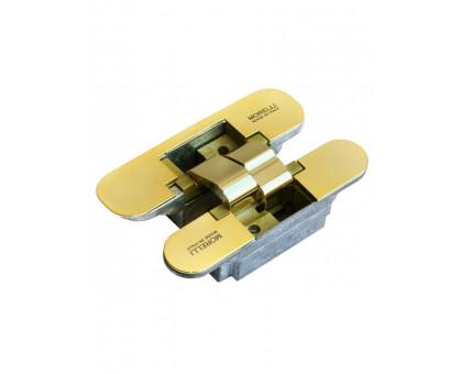 Скрытые петли Morelli HH-1 PG Цвет Золото с 3-D регулировкой