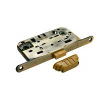 Защелка врезная магнитная сантехническая Morelli M1895 AB Бронза античная, бесшумная