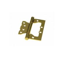 Дверная петля без врезки Palidore 100*75*2,0 2ВВ РВ ARSENAL полированное золото