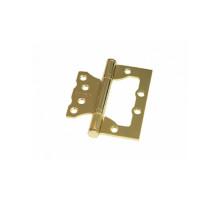 Дверная петля без врезки Palidore 100*75*2,0 2ВВ SB ARSENAL матовое золото