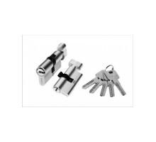 Цилиндровый механизм алюминиевый PALIDORE TURDUS А-90 ключ/завертка РС хром
