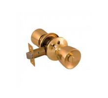Дверная ручка-кноб Palidore 3091 PB BK фиксатор полированное золото