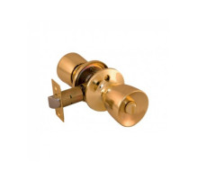 Дверная ручка-кноб Palidore 3091 SB BK фиксатор матовое золото