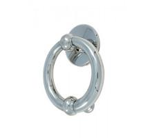 Дверное Кольцо Pasini Luna Knocker D/150 Chrome Хром
