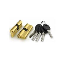 Цилиндровый механизм Punto A200/60 mm (25+10+25) PB латунь 5 кл.