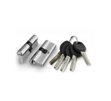 Цилиндровый механизм Punto A200/60 mm (25+10+25) SN мат. никель 5 кл.