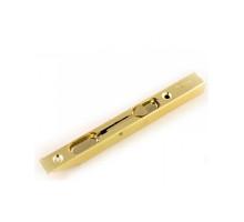 Ригель дверной RENZ 140 мм., латунь матовая