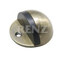 Ограничитель дверной напольный RENZ DS 44 AB бронза античная