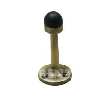 Ограничитель дверной настенный RENZ DS 77 AB бронза античная