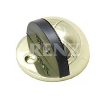 Ограничитель дверной напольный RENZ DS 44 PB латунь блестящая