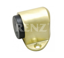 Ограничитель дверной напольный RENZ DS 31 SB латунь матовая