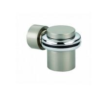 Ограничитель дверной напольный магнитный RENZ DSМ 34 SN никель матовый