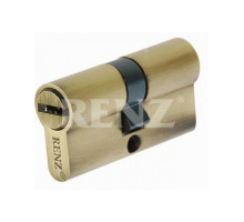 Ключевой цилиндр RENZ 60 мм ключ-ключ CS 60 бронза античная