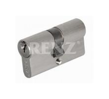 Ключевой цилиндр RENZ 60 мм ключ-ключ CS 60 никель матовый