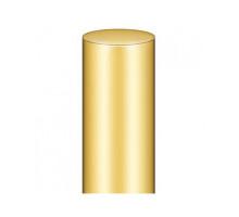 Декоративная накладка № 12 BAKA 4000 (пластик) латунь полированная