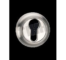 Накладка на цилиндр TIXX, никель матовый/никель блестящий