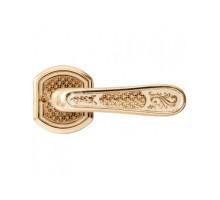 """Дверная ручка VAL DE FIORI DH 702-71 PB/I """"Ризарди"""", латунь блестящая с эмалью"""