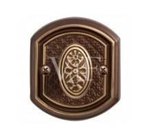 "Завертка VAL DE FIORI BK 71 CB к ручке ""Ризарди"", бронза шоколадная"