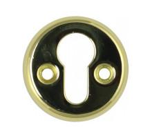 Накладка под цилиндр Vantage 016PZ PB, золото
