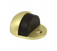 Дверной ограничитель Vantage DS3 SB D 45mm h 25mm , матовое золото