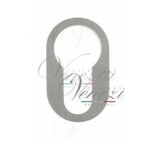 Накладка Дверная Круглая Под Цилиндр Venezia Unique Cyl-30 (Серия Slim) Матовый Хром