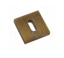 Накладка Дверная Квадратная Под Ключ Буратино Venezia Unique Key-20 Матовая Бронза
