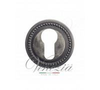 Накладка Дверная Под Цилиндр Venezia Cyl-1 D3 Античное Серебро