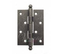 Дверная Петля Универсальная Латунная С Круглым Колпачком Venezia Crs010 102X76X3 Античное Серебро