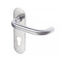 Дверной гарнитур DL 038KP/F PZ72 U-form Rt (шток 9 мм) DOORLOCK