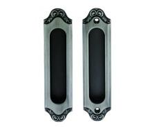 Ручка для раздвижных дверей и шкафов-купе ACANTO BL. SILVER (SD) Черненое серебро
