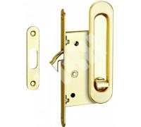 Комплекты ручек для раздвижных дверей с замком TIXX SDH-BK 501GP латунь блестящая