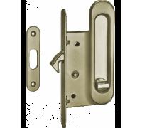 Комплекты ручек для раздвижных дверей с замком TIXX SDH-BK 501AB бронза античная