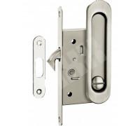 Комплекты ручек для раздвижных дверей с замкомS TIXX DH-BK 501 SN никель матовый
