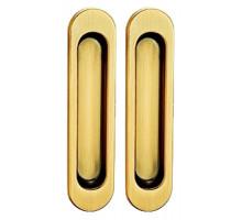 Ручки для раздвижных дверей TIXX SDH 501 SG латунь матовая