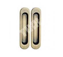 Ручки для раздвижных дверей TIXX SDH 501 AB бронза античная