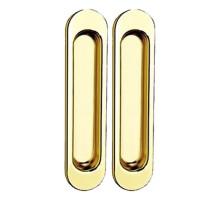 Ручки для раздвижных дверей TIXX SDH 501 GP латунь блестящая