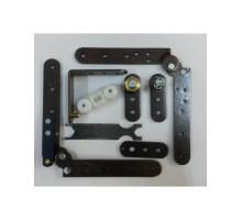 Комплект для двери книжка до 30 кг. MORELLI SLIDING SET 1133-1137