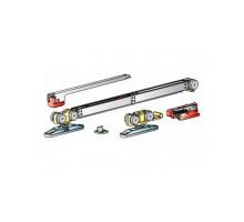 Раздвижная система MORELLI SLIDING SET 2 для одностворчатой двери от 620 до 1100 мм