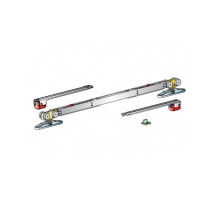 Раздвижная система MORELLI SLIDING SET 3 для одностворчатой двери от 732 до 1100 мм