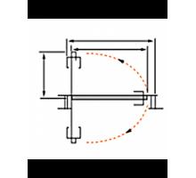 Свинг - система MORELLI SWING TRACK 89 BLACK  (роторный механизм)