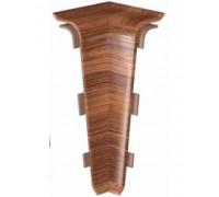 Плинтус пластиковый CEZAR Hi-Line PRESTIGE угол внутренний (в цвет плинтуса)