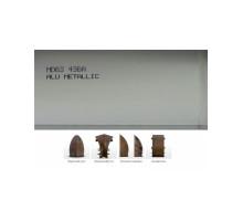 Пластиковый плинтус Dollken MD-63 с кабель-каналом 63х26х2500мм Алюминий Металлик + монтажная планка
