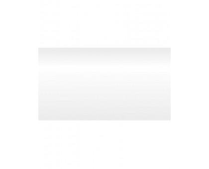 Пластиковый плинтус Идеал Система 80х22х2200 с кабель-каналом 001 Белый