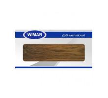 Плинтус Wimar (Вимар), ПВХ, с кабель-каналом 812 Дуб английский, 58 мм.