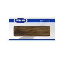 Плинтус Wimar (Вимар), ПВХ, с кабель-каналом 808 Дуб тобако, 58 мм.